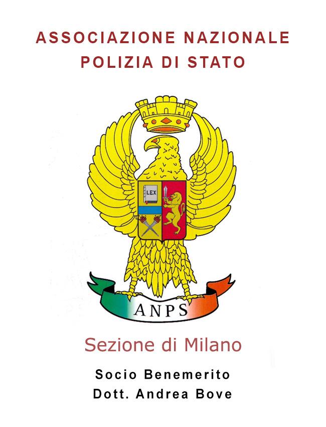 associazione nazionale polizia di stato sezione milano