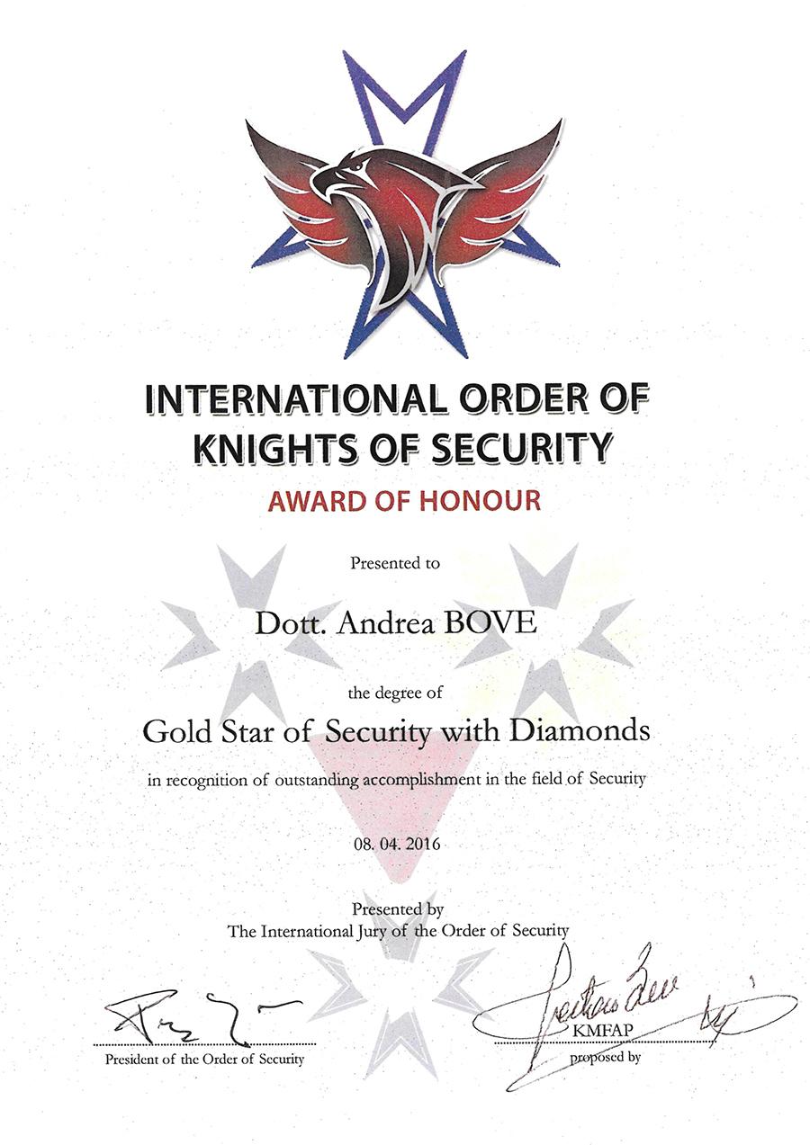 Ordine Internazionale della sicurezza