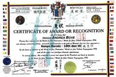 diploma-kenpo-karate-10dan-hanshi-andrea-bove