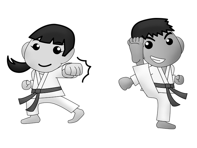 Corso Karate Bambini Pavia