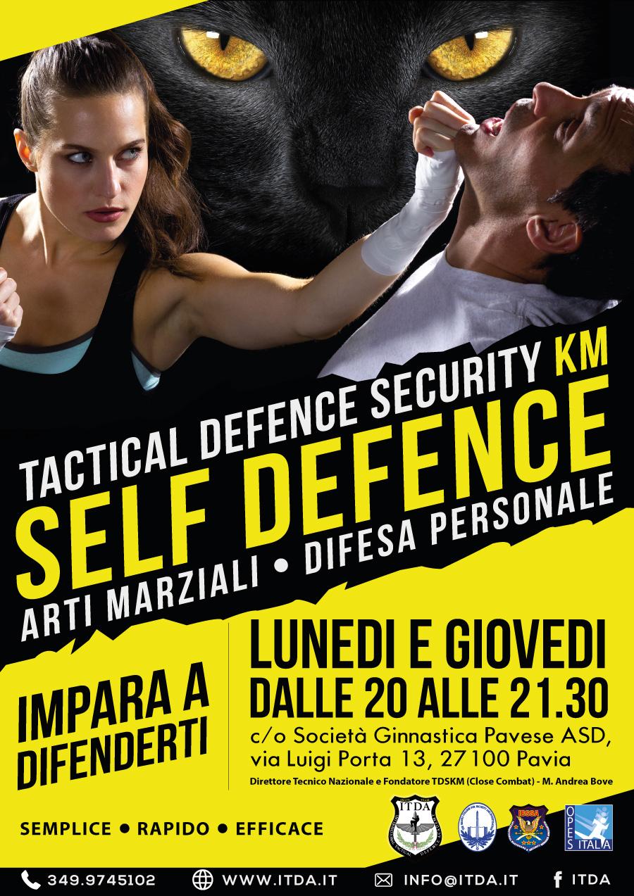 Corso Difesa Personale Donne e Uomini Pavia